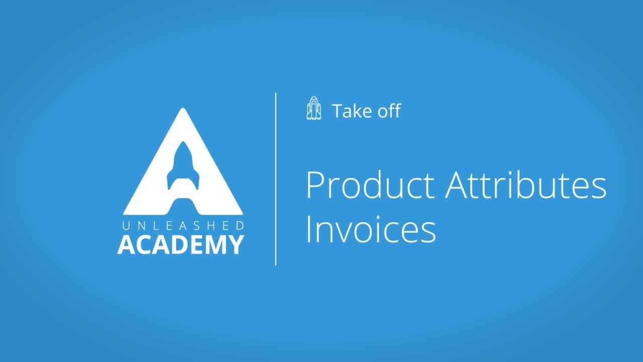 Product Attributes Invoices YouTube thumbnail image