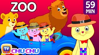 Three Little Kittens Went To The Zoo – Wild Animals Sounds Nursery Rhymes by Cutians™   ChuChu TV