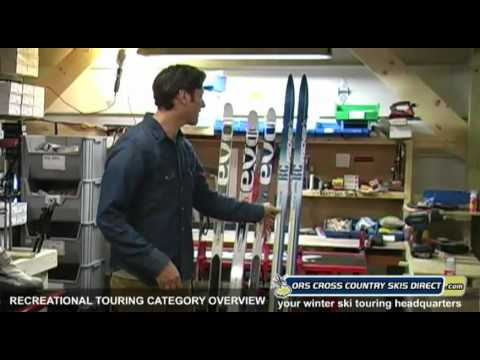 How to Select Recreational Nordic Skis, Boots, Bindings & Poles - by ORS Cross Country Skis Direct