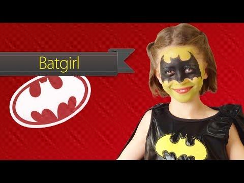 Batman schmink voor meisjes