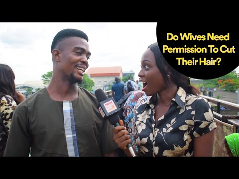 Do Wives Need Permission To Cut Their Hair?