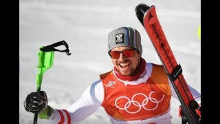 Marcel Hirscher of Austria Wins Olympic Gold Medal In Men's Combined