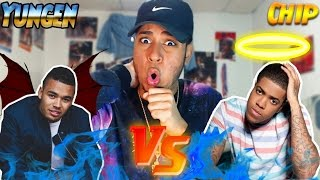 Chipmunk VS Yungen | American Listens To UK Grime Beef #2 UH OH!(Diss Tracks Reaction)Punk , Riddim