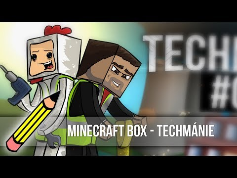 Minecraft Box  - Techmánie (Drawing timelapse)