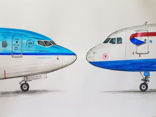 How To Draw 737