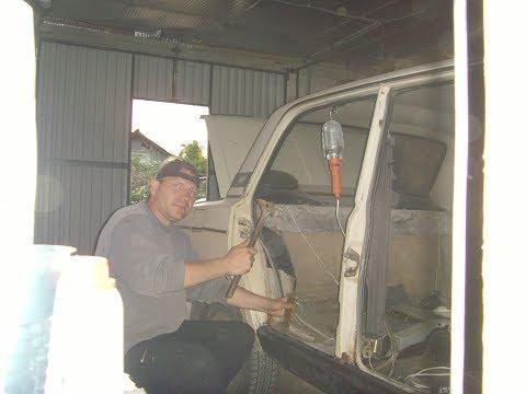 ВАЗ 2106 ремонт гнилого днища и порогов