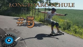 Longboard-Schule #5 - Sliden - Longboard  Trick für Anfänger [Deutsch/German]