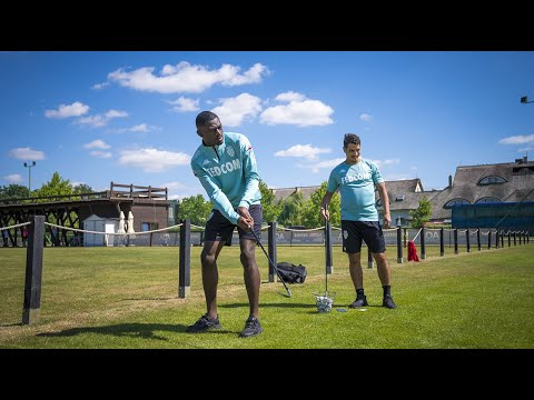Golf clash Wissam Ben Yedder & Youssouf Fofana ! - AS MONACO