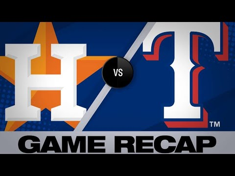 Rangers use 5-run 1st to down Astros - 4/20/19