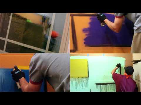 Liquitex Spray Paint Demo ft. John Bambino (C.O.A.S.P.)