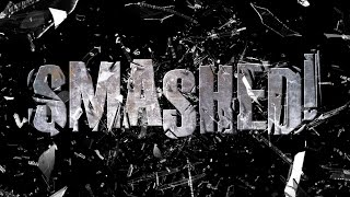 Photoshop Tutorial: How To Create A Shattered Text Effect With Shards Of Broken Glass!
