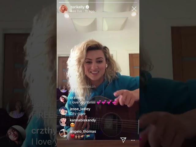 TORI KELLY & JEREMY PASSION ON IG LIVE FULL VIDEO