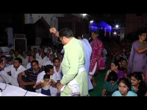ban ghunghroo nacha main dar tere bansari bajaan waleya Punjabi bhajan by Tinu Singh Phagwara