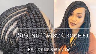 SPRING TWIST CROCHET BRAIDS |@irenesbraids