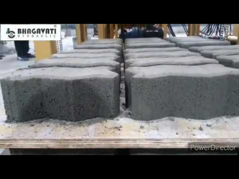 Fully Automatic Vibro Compact Blocks & Bricks Making Plant