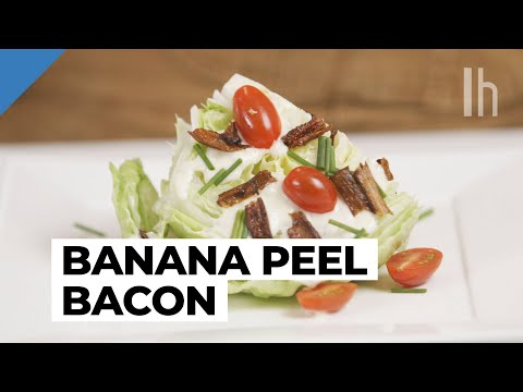 How To Make Candied Banana Peel 'Bacon'