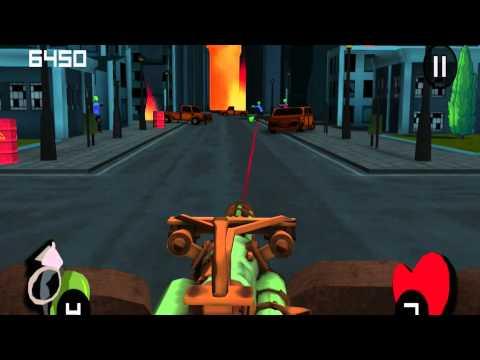 Video of Minigun vs Zombies