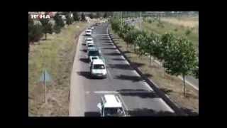 preview picture of video 'Hüdapar Diyarbakır ilbaşkanlığı Açılışı Konvoy'