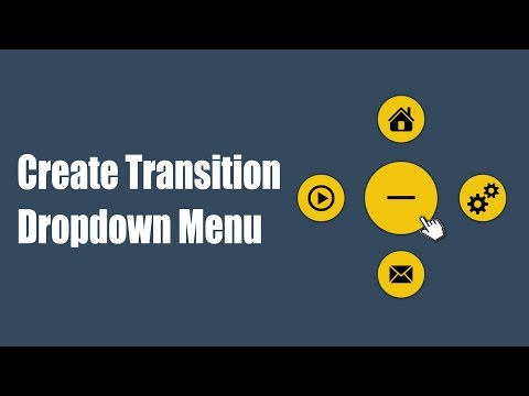 Learn HTML5 and CSS3 | Create Transition Dropdown Menu | Introduction | Eduonix
