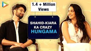 ROFL: Shahid Kapoor- Kiara Advani's CRAZIEST Quiz On Angry Men In Bollywood | Kabir Singh