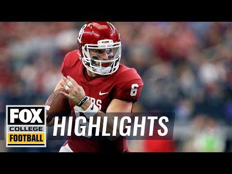 Oklahoma vs TCU | Highlights | FOX COLLEGE FOOTBALL