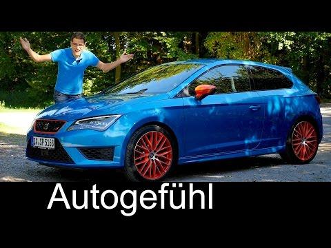 HOT HATCH! Seat Leon Cupra 290 Performance Pack FULL REVIEW test driven - Autogefühl