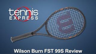 Ρακέτα τέννις Wilson Burn FST 99S video