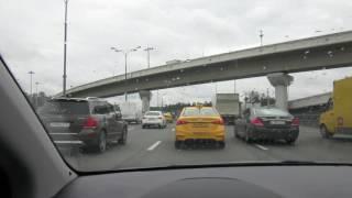 Петербург-Черное море на машине за 2 дня.М-4 М-10.транспондер пробки.День1