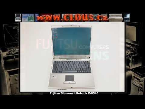 Fujitsu Siemens Lifebook E-6540 - video
