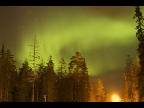 Magical Northern Light (Aurora Borealis) in Salla - Lapland - Finland (20-2-2015)