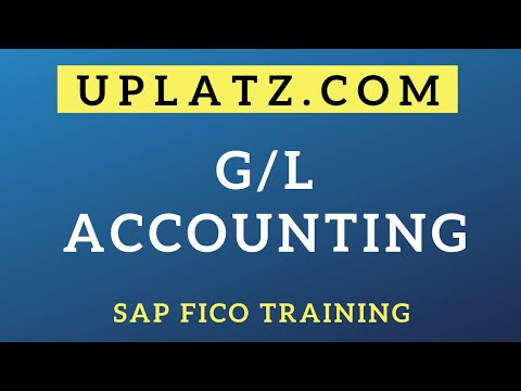 G/L Accounting | SAP FICO Training & Certification | SAP FICO Course