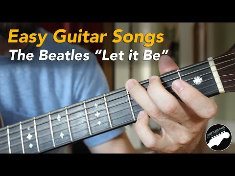 How to Play Let It Be Guitar Chords * The Beatles * Video Lesson