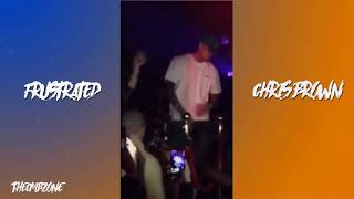 Chris Brown - Frustrated (Heartbreak On A Full Moon) - Snippet (Official Audio)
