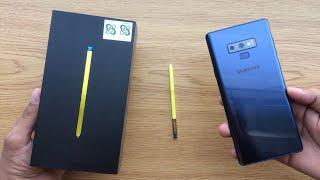 #فتح_صندوق : جالكسي نوت ٩ Unboxing : Galaxy Note 9
