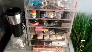 Makeup Storage: My Clear Cube