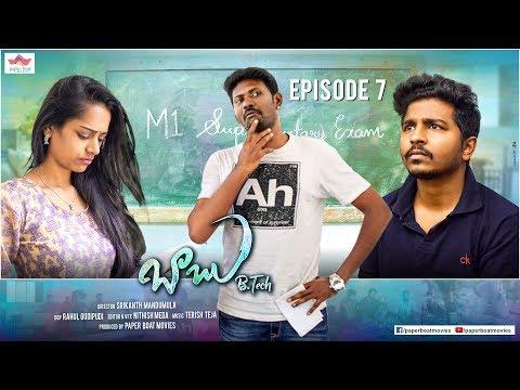 Babu B.Tech 7 |Mahesh Vitta |Avinash Varanasi |Telugu Comedy Web Series|| By Srikanth Mandumula