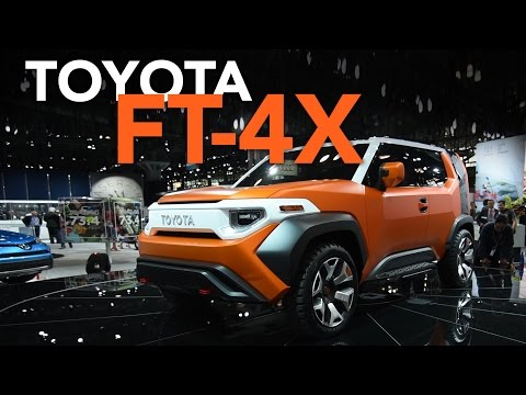 Toyota FT-4X Concept and 2018 Toyota Sienna First Look - 2017 New York Auto Show