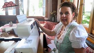 Küchenhandtuch mit praktischer Aufhängung! Schwarzwald-Tani Schnittmuster : Aloisia   Elna 860