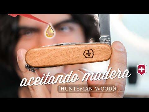 La Navaja Suiza Más Bonita: HUNTSMAN WOOD  Victorinox outdoor de madera - Mochileros