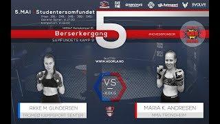 07 NMMAF Merkekamper 15: Rikke M. Gundersen vs Maria K. Andresen