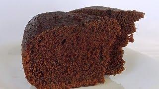 Бисквитный Шоколадный Кекс в Мультиварке кулинарный видео рецепт