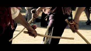 preview picture of video 'Dance de Yebra de Basa (Estaba la niña)'