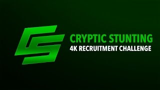 Cryptic Stunting 4K RC Announcement [Closed]
