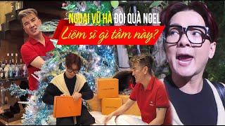 """Vũ Hà đập hộp set đồ """"hàng hiệu - triệu đô"""" Đàm Vĩnh Hưng tặng giáng sinh"""
