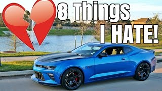 8 Things I HATE About My 2017 Camaro SS 1LE