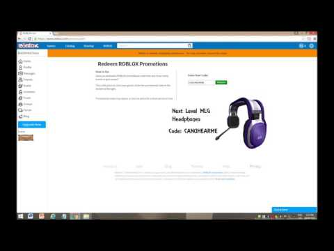 How To Get Promo Codes In Roblox - Roblox Promo Codes Youtube Rxgatecf To Redeem It