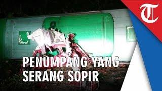 Kecelakaan Tol Cipali, Terungkap Pekerjaan Penumpang yang Serang Sopir Bus