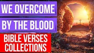 The blood of Jesus (Encouraging Bible verses for sleep)