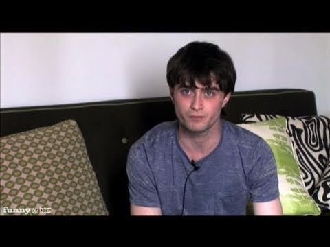Daniel Radcliffe explaining he really is Harry Potter