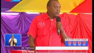 Uhuru claims that NASA cant solve land problems in Kajiado county, Maasailand politics